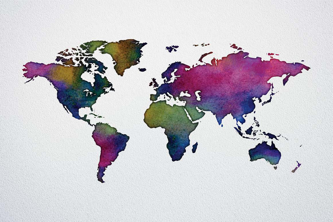 Watercolor world maps jpgepspng graphic spirit view view2 view3 view4 gumiabroncs Image collections