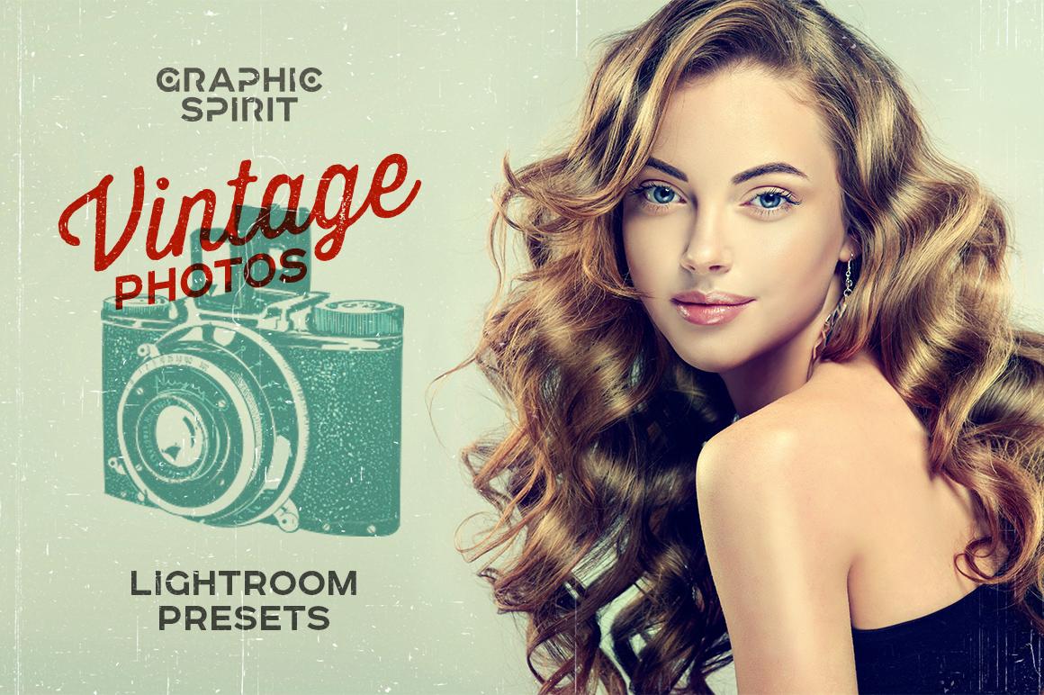 Vintage Photos Lightroom Presets Set   Graphic Spirit