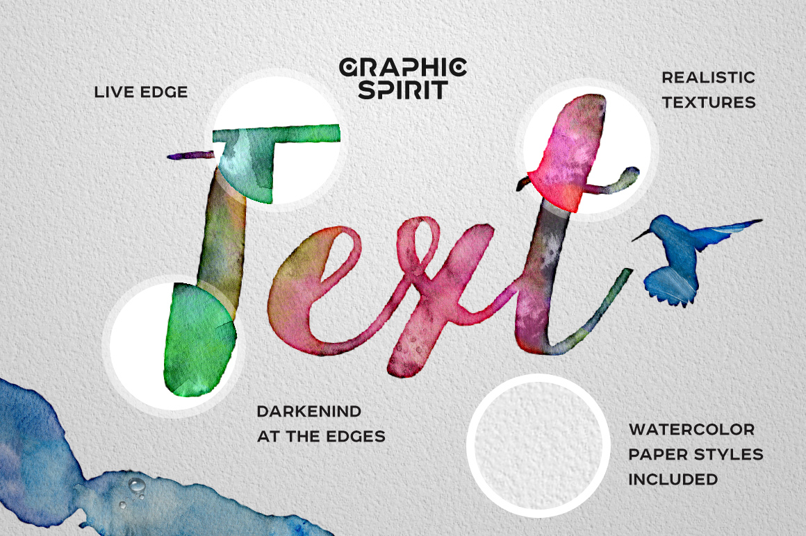 Watercolor PHOTOSHOP Lab | Graphic Spirit